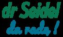 logotyp dr Seidel da radę! blue